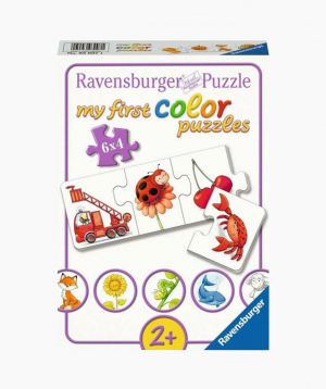 Ravensburger Փազլ «Իմ բոլոր գույները» 6x4p