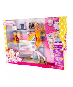 Barbie `Barbie` Volleyball Playset