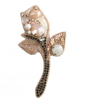 """Brooch """"LilmArt"""" handmade flower"""