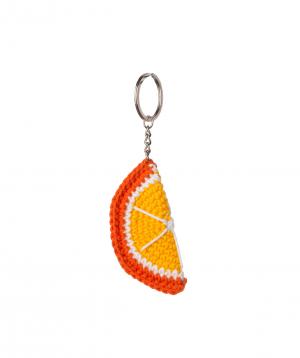"Pendant ""Crafts by Ro"" orange №2"