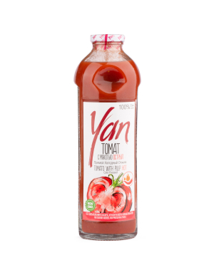 """Natural juice """"Yan"""" tomatoes 930 ml"""