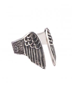 """Кольцо""""DF Project"""" серебряное, ангел"""