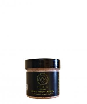 Cream `Hirik Cosmetics` exfoliator vanilla strawberries and almonds