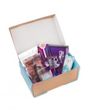 Gift box `Wonder Me` oh my cat