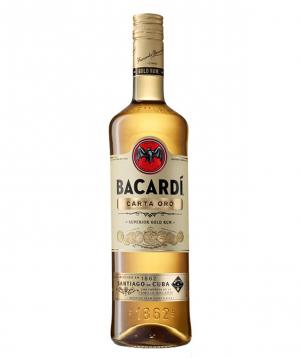 """Rum """"Bacardi Gold"""" 1l"""