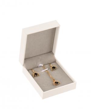 Հավաքածու «Ssangel Jewelry» վզնոց և ականջօղեր