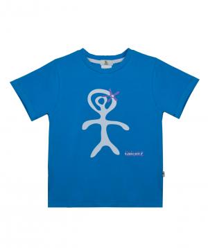 T-shirt `Lalunz` light turquoise