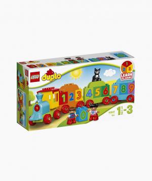 Lego Duplo Կառուցողական Խաղ «Գնացք. Խաղա՛ և Հաշվի՛ր»