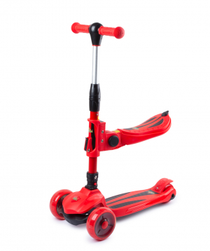 Scooter PE-15087 with light effect and seat