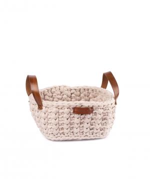 """Basket """"Ro Handmade"""" handmade, cotton №2"""