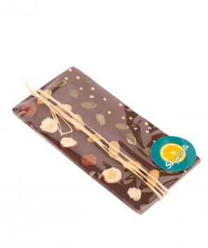 Շոկոլադ «Saryaneats» չորամրգերով և ընդեղենով №2