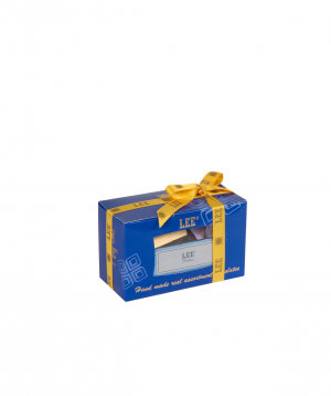 Chocolate candies `LEE` small set, blue