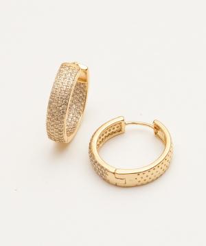 "Earrings ""Rougecoco"" Queen Rania"