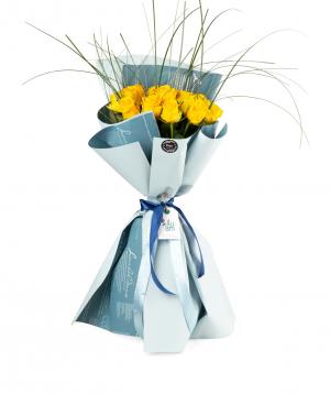 Ծաղկեփունջ «Դենպասար» վարդերով