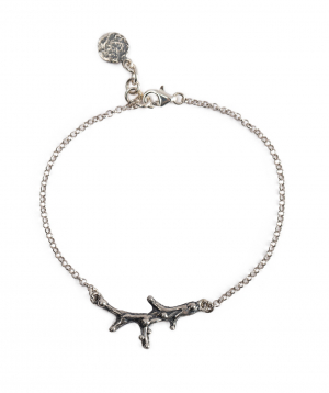"""Bracelet """"DF Project"""" silver №6"""