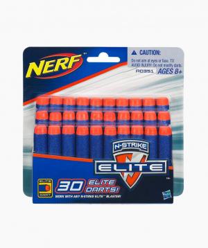 Hasbro Փամփուշտ NERF «30 DART REFILL»