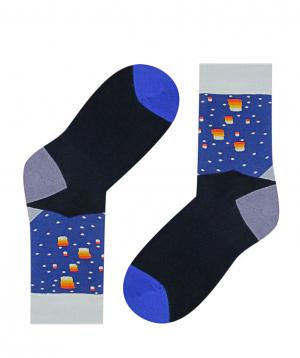 """Socks """"Zeal Socks"""" night sky"""