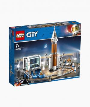 Lego City Կառուցողական Խաղ Տիեզերային Հրթիր և Մեկնարկման Կայան