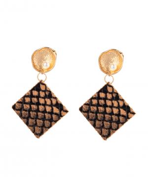 """Earrings """"Ssangel Jewelry"""" №6"""