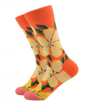 Socks `Zeal Socks` flowers