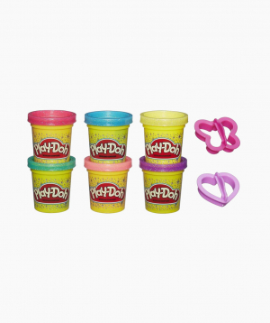 Hasbro Plasticine PLAY-DOH Set Sparkle Compound