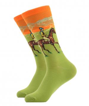 """Socks """"Zeal Socks"""" horseman"""
