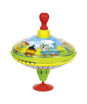 """Toy """"Goki Toys"""" humming top"""