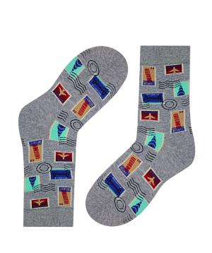 Գուլպաներ «Zeal Socks» նամականիշներ