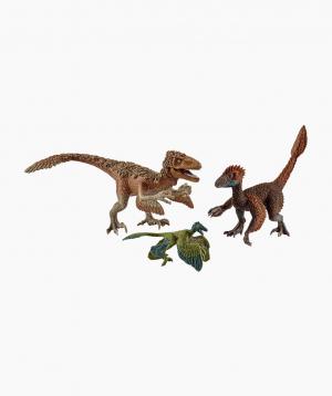Schleich Dinosaur figurines set Feathered raptors