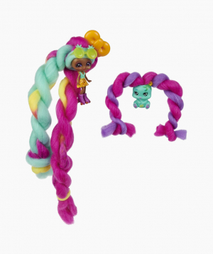 Spin Master Doll and Pet with Accessories Candylocks Mina Colada & Grizz