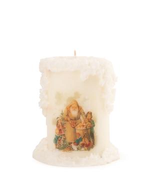 Candle `Light Your Home` christmas medium