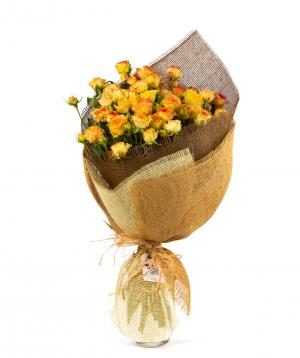 Ծաղկեփունջ «Մարրաքեշ» վարդերով