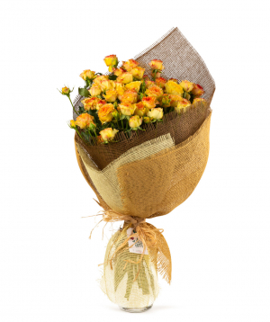Bouquet `Marrakesh` with roses