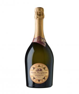 Sparkling wine `Prosecco Brut Valdobiade` dry 750 ml