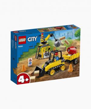 Lego City Կառուցողական Խաղ «Շինարարական բուլդոզեր»