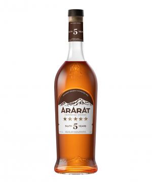 Brandy `ARARAT` 5 Stars 700 ml