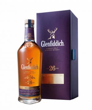 Վիսկի «Glenfiddich» 700 մլ 26 տարվա հնեցման