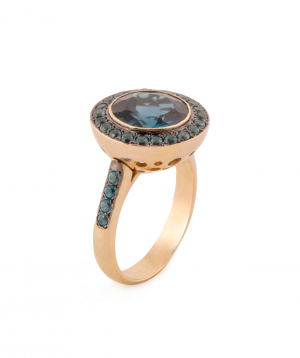 """Ring """"Less is more"""" gold №6"""