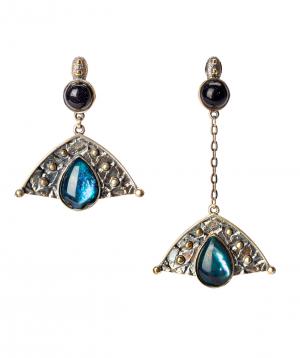 """Earrings """"Har Jewelry"""" silver drop"""
