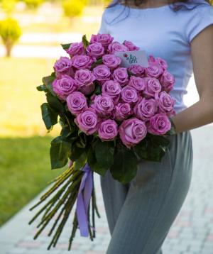 Розы «Maretim» фиолетовые 29 шт