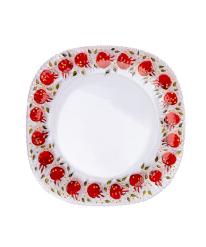 "Plate ""Taraz Art"" decorative, glass №19"