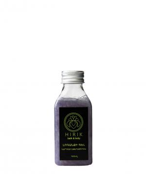 Gel `Hirik Cosmetics` for shower with lavender essential oil 100 ml