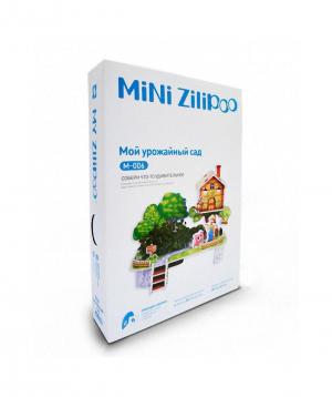 Փազլ «MINI Zilipoo» 3D, բնական բույսերով պտխատու այգի