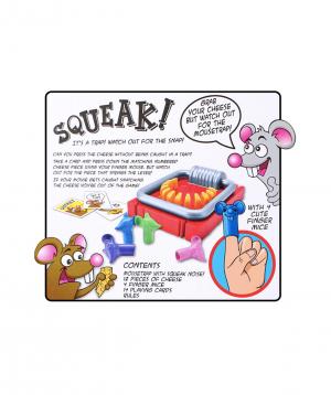 """""""SQUEAK"""" A fun family game"""
