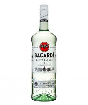 Rum `Bacardi White` 1l