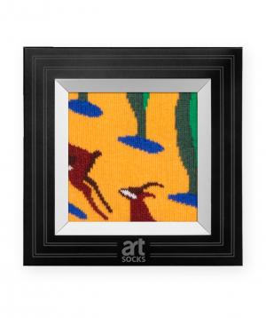 "Socks  ""Art socks"" with ""Gazelles"" painting"