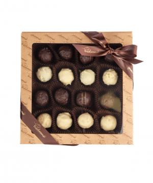 Հավաքածու «Theobroma» ձեռագործ շոկոլադապատ տրյուֆելների