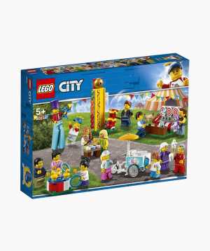 Lego City Կառուցողական Խաղ Մինիֆիգուրների Հավաքածու Զվարճալի Տոնավաճար
