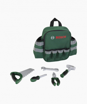 Klein Bosch Tools in Backpack