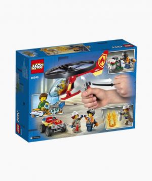 Lego City Կառուցողական Խաղ «Հրշեջ-փրկարարական ուղղաթիռ»
